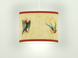 Birds On A String – Ceiling Light in yellow
