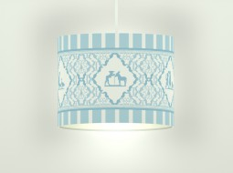 Boys Silhouette Ceiling Lamp