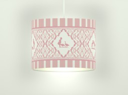 "Girls Lamp ""Under the Pear Tree"""