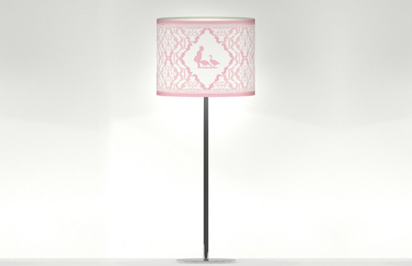 Adorable Table Lamp for Baby Girls