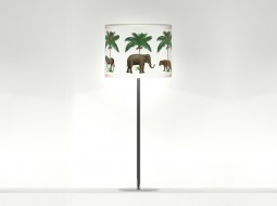 Stylish Table Lamp: The Lucky Elephant